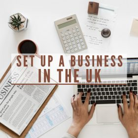 set up a business in UK