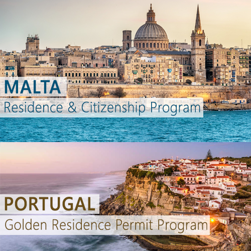 Malta Citizenship by Investment and the Portugal Golden Residence Program