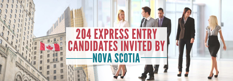 204 Express Entry Candidates