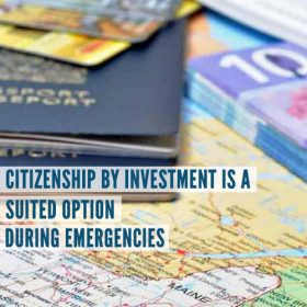Citizenship by Investment is a suited option